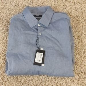 Boss  'MarleyUS' Sharp Fit Dress Shirt